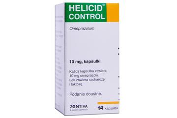 HELICID CONTROL 10 mg 14 kapsułek