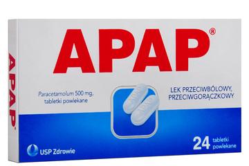 APAP 500 mg 24 tabletki