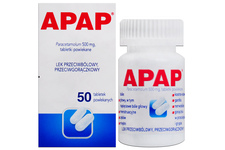 APAP 500 mg 50 tabletek