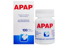 APAP 500 mg 100 tabletek