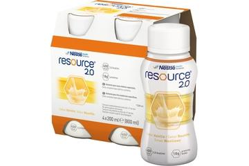 RESOURCE 2.0 SMAK WANILIOWY 4x 200 ml
