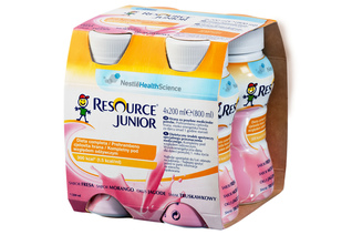 RESOURCE JUNIOR SMAK TRUSKAWKOWY 4x 200 ml płyn