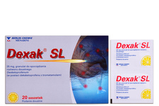 DEXAK SL 25 mg 20 saszetek