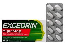 EXCEDRIN MIGRASTOP 20 tabletek