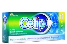 CETIP 10 mg 10 tabletek